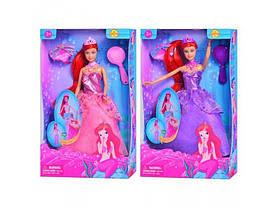 Детская Кукла Русалочка Defa 8188, Кукла 8188 Русалочка с хвостом, фото 3
