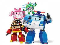 Детская Игрушка Трансформер 83169 Robokar Polli, Робот Машинка 83168 Робокар Поли в ассортименте