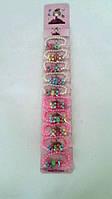 Набор детский браслет, цена за уп., в уп. 10шт, на планш. 45*8см(3048004)