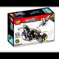 Детский Конструктор 8916 NINJA Транспорт, Лего 8916 Нинзя Транспорт и человечки