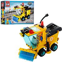 Детский Конструктор BRICK 1101 Мусороуборочная машина, Лего 1101 Мусороуборочная машинка