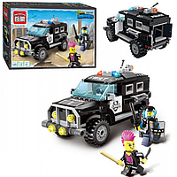 Детский Конструктор 1110 BRICK Полицейский Джип, Лего 1110 Полиция