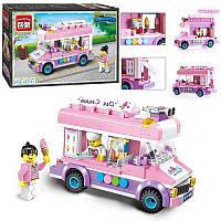 Детский Конструктор 1112 BRICK Кафе на колесах, Лего 1112 Кафе машинка мороженое