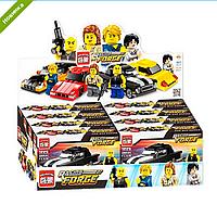Детский Конструктор 1225-1228 BRICK Машинка, Лего 1225, 1228 машина и фигурка