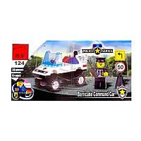 Детский Конструктор 124 BRICK Полицейская Машинка, Лего 457796 Полицейская машина