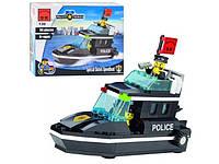 Детский конструктор 130 BRICK Полицейский Катер, Лего 130 Полицейская серия