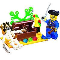 Детский Конструктор 312 BRICK Остров сокровищ, Лего 312 Пираты