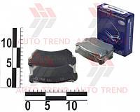 Э- Колодка тормозная задняя диск CHEVROLET LACETTI | FRICO