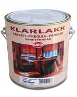 Полиуретановый лак на водной основе Кlarlakk 15  Vannbasert, 3 л