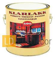 Полиуретановый лак на водной основе Кlarlakk 40  Vannbasert, 3л