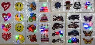 14BS0810-2 Светящиеся наклейки