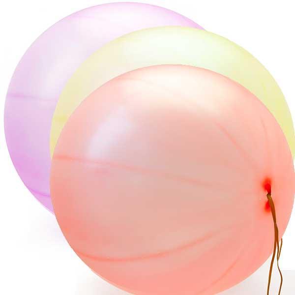 Воздушный шар Панч-Болл (Арбуз) неоновый 16″/40см 6гр