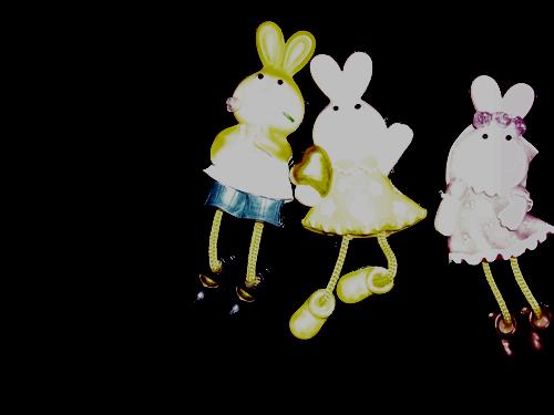 """Магнит """"Заяц с ножками"""""""