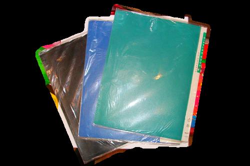 Папка с файлами на 100  листов