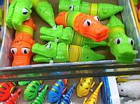 Заводная игрушка Крокодильчик