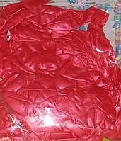 Воздушный шар металлик красный 12″/30см