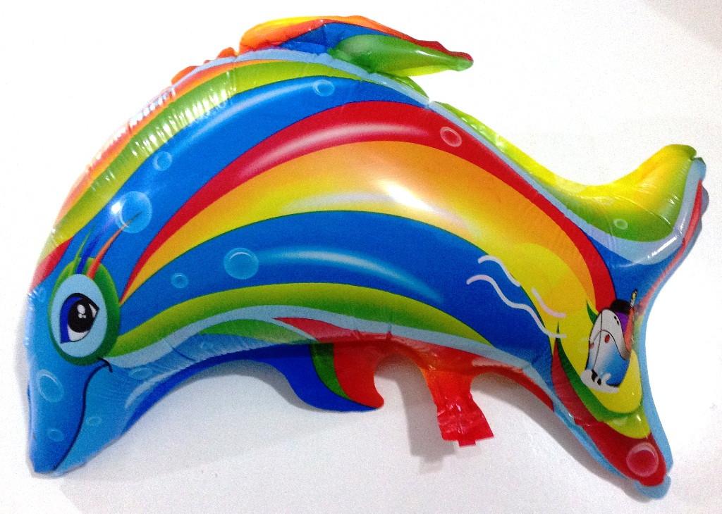 """14BS1201-40 Фольгированный шар """"Дельфин""""(AH-8077)"""