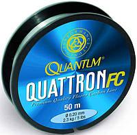 Quantum Леска флюорокарбон Quattron FC, (Леска флюорокарбон Quattron FC, 0,20мм, 50м)