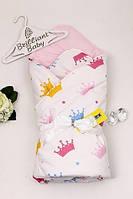 Хлопковое зимнее одеяло конверт valleri (королева) Brilliant Baby