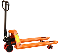 Ручная гидравлическая тележка для паллет АС25Р1150, грузоподъемность 2500 кг, вилы 1150/550 мм, фото 1