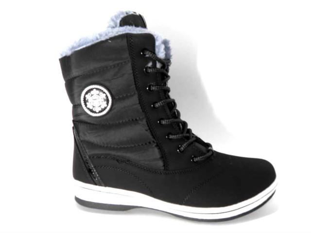 Ботинки * женские Sayota S 8312-1 черный зимние