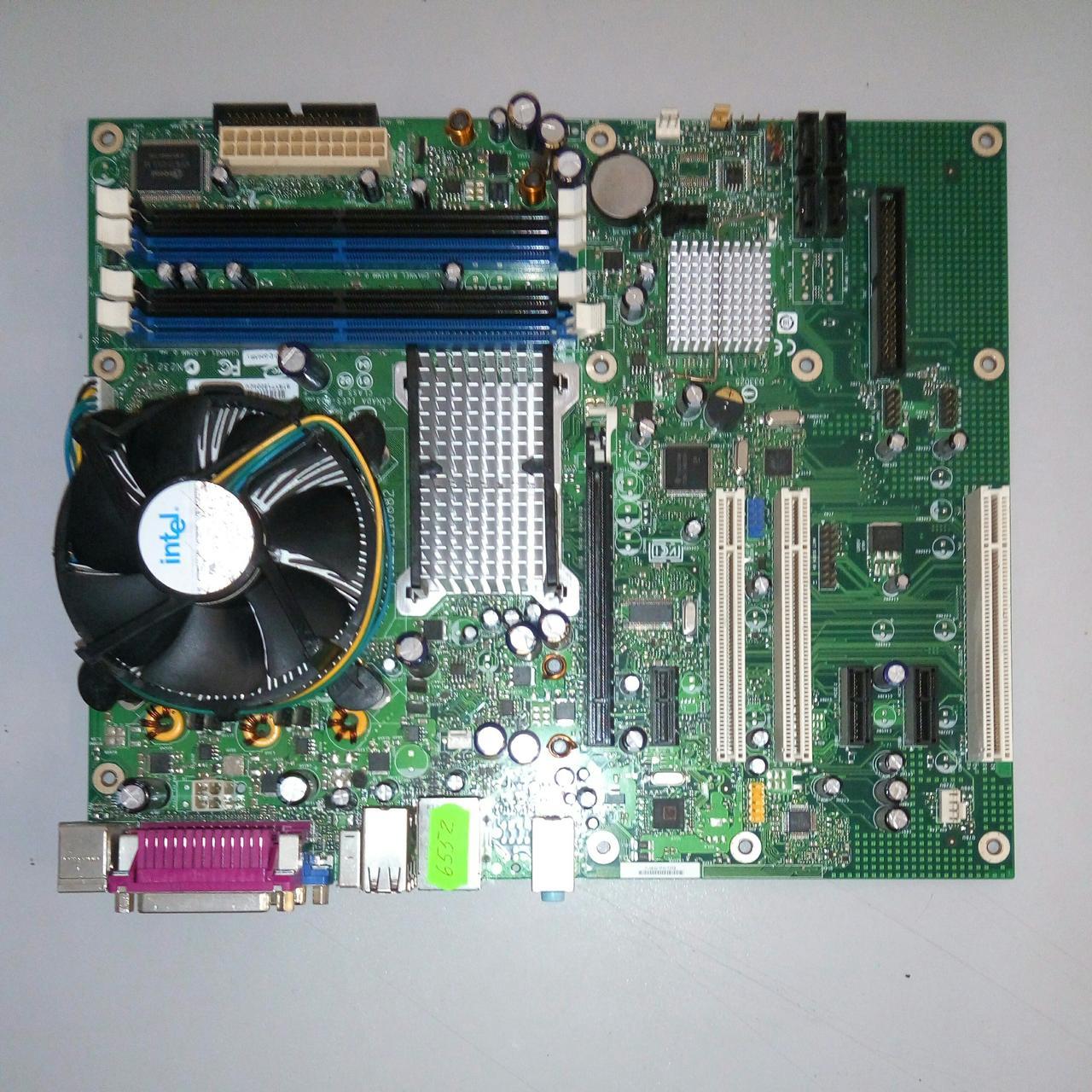 Материнская плата INTEL DG965RY +Процессор Intel Pentium  631 б/у