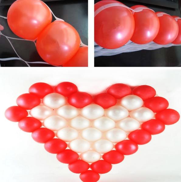 Матрица для моделирования сердца из шаров 70х70см