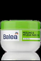 Подушки для интенсивной чистки лица Balea Young Peeling & Pflege Pads 2in1 30 шт.