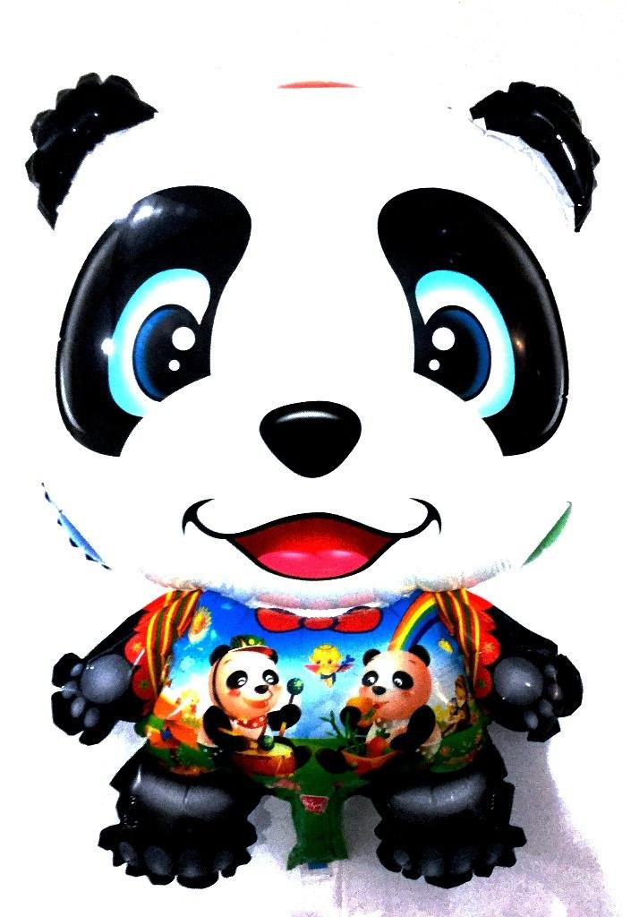 Фольгированный шар фигурка Панда