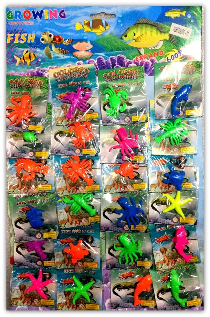 9006-11 Рептилии (24шт на листе)