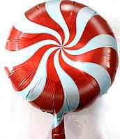 Фольг. шар круглый Леденец  (AH-8041)
