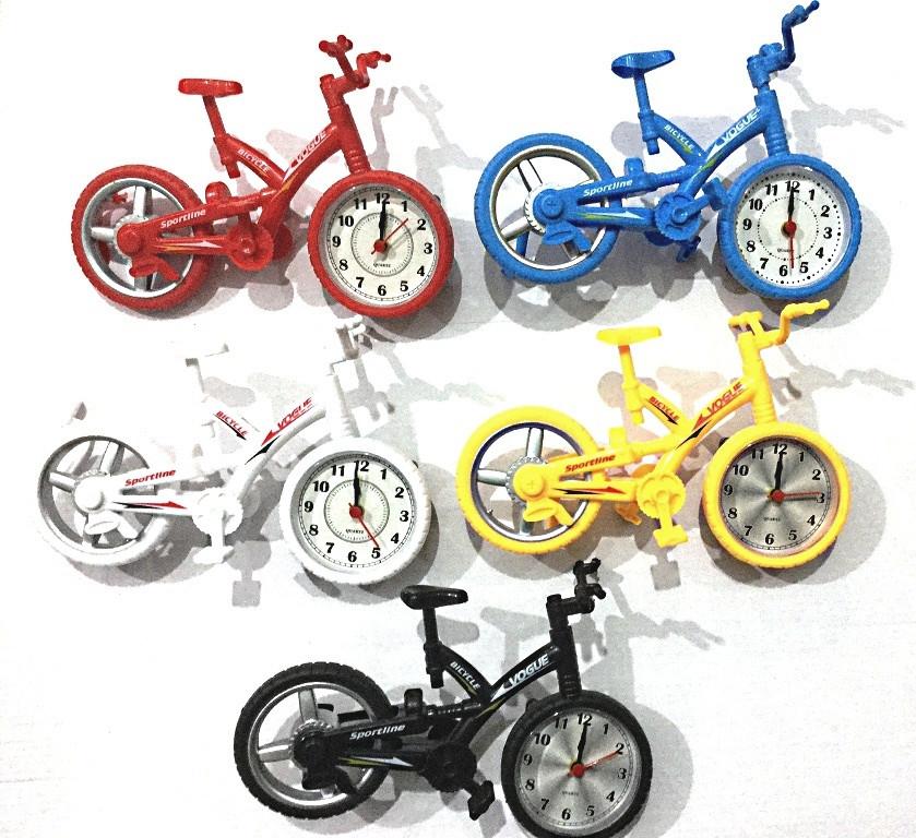 Велосипед + часы