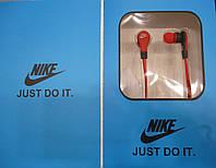 Наушники с блютусом NIKE (Bluetooth + флешка)