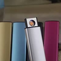 Электронная USB зажигалка в металлическом корпусе