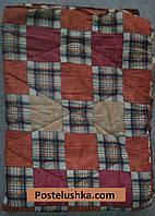 Одеяло ватное 150х210 см Уют