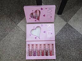 Набор Матовая жидкая помада KYLIE Valentine Edition