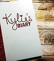 Палетка теней и румян Kylie Diary Pressed Powder Palette
