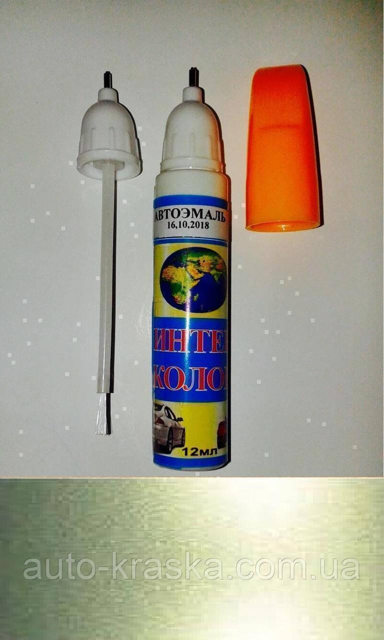"""""""2 в 1"""" 345 ОЛИВКОВАЯ   . Реставрационный карандаш-маркер."""