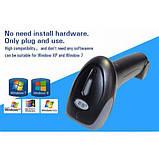 Беспроводной сканер штрихкодов штрих-кодов + USB C533, фото 2