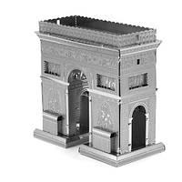 3D пазл конструктор металлический Триумфальная арка