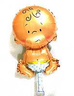 Фольгированный шар пупсик мальчик (AH-M019)
