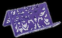 """Подставка для визиток 100x97x47мм Buromax """"KT"""" купить канцелярию оптом ZB-10"""