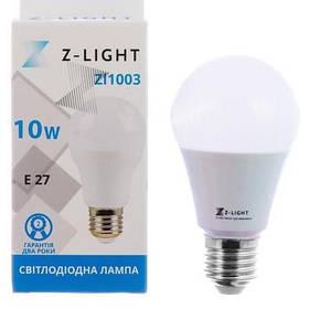 Светодиодная лампа Z-LIGHT 10W E27 Белый свет