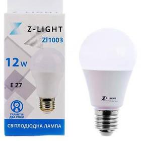 Светодиодная лампа Z-LIGHT 12W E27 Белый свет