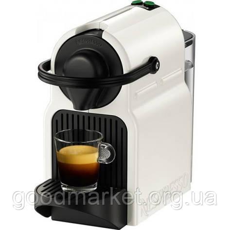 Капсульная кофеварка эспрессо Krups Nespresso Inissia XN 1001 white, фото 2