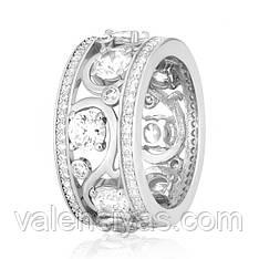 Серебряное кольцо-комплект КК2Ф/193