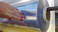Пленка ПВХ прозрачная для окон СИЛИКОН, Гибкое стекло, мягкое стекло 1.50м*90мкр*173м