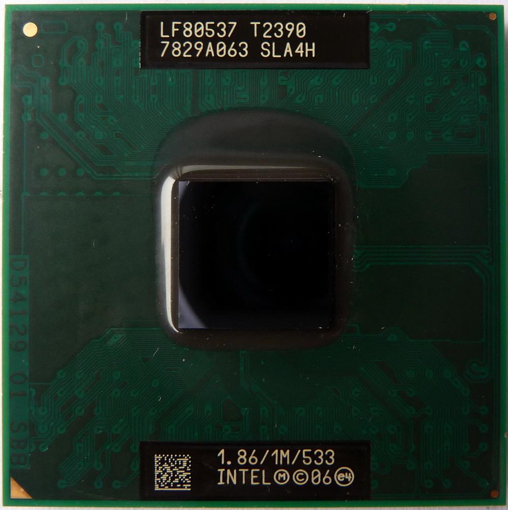 Процессор Intel® Pentium® T2390 1 МБ\1,86 ГГц\533 МГц