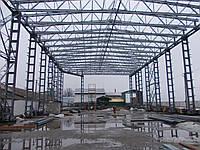 Строительство складов, ангаров, промзданий