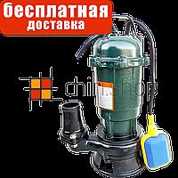 Насос фекальный с поплавком Eurotec PU 205, 40-75 мм, дренажный чугунный для грязной воды, ям, выгребной